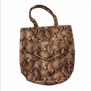 🎉HOSTPICK🎉NWOT Mossimo Snakeskin Bag SEE BOOTIES
